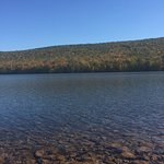 Mauch Chunk Lake Park. Mid-October 2016.