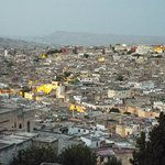 Fes from roof terrace