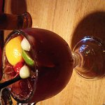 Peach Mint Sangria and Red Apple Sangria