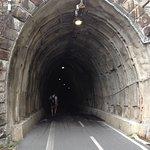 Entrada a uno de túneles