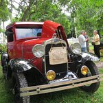 Model A Ford pickup truck