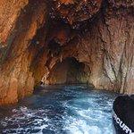 une grotte scandola