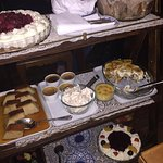 Dessert trolley! Gonna party like it's 1969!