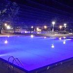 Zwembad op de camping