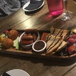 Sharing platter for two.