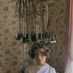 Hair curling iron c 1900s
