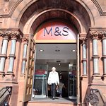 Main entrance to M&S Belfast City Centre