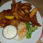 Schnitzel mit Kartoffelecken