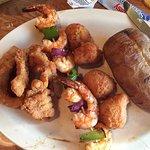 catfish and shrimp combo