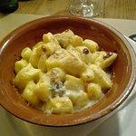 Gnocchi di polenta gratinati al gorgonzola