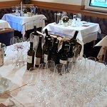 Angebotene Weinverkostung
