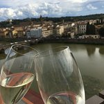 View from The Sesto on Arno