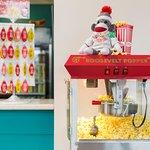 Popcorn on Arrival - Sock Monkey fun!