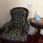 Big comfy chair. Room 3.
