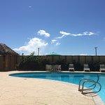 wonderful pool and hot tub!