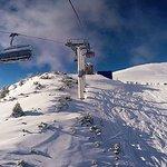Blick in die wunderbare Bergwelt vom 6er Sessel Cabrioflitzer im Januar 2015