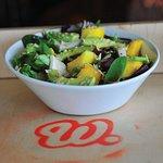 Healthy salads... Chicken, Mango, Avocado Salad