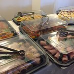 Some of our outside catering buffets .. Menus on our website oldhallcafe.com