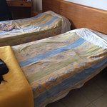 Beds in the apartment, very low,not good if you have a bad back or mobility problems