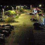 Este es el lugar donde estacionamos la camioneta durante las 4 noches.