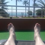 Sun Terrace view from Lounger
