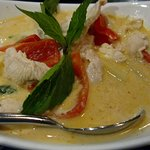 Pineapple Red Curry with chicken