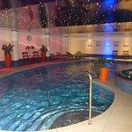 Nice pool, reasonable size.