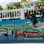 Several walls have murals depicting Vieques