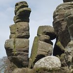 Brimham Rocks, a short drive away