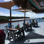 Nice bar/ restaurant with water view. Fried key lime pie was good.  Old fashion mouse traps hold