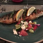 Branzino - delicious but required a little work to get the bones out. Worth it.