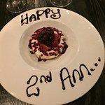 Our Anniversary dessert!