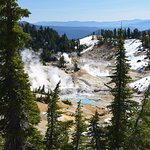 Bumpass Hell, 1.3 miles moderate difficulty