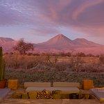 Great sunsets at Tierra Atacama
