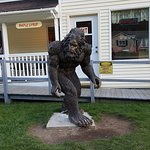 Bigfoot is outside of Muldoon's!