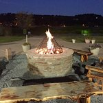 Nightly fire pit