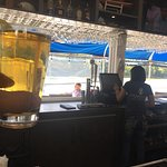 Cold beer at the bar