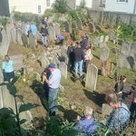 The old Jewish cemetery on the Hoe
