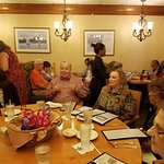 Senior citizen group in the function room