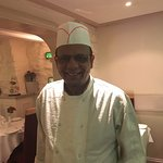 Mr Taklus - a brilliant chef of the finest Indian cuisine. Seriously - the freshest ingredients,