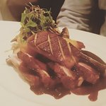 Long Island Duck - very decadent dish with so much favor. The meat is very tender.
