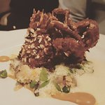(seasonal) Soft Shell crab, appetizer size - just because we couldn't decide so we got it as an