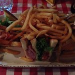 Club Sandwich w/ Fries