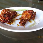Korean fried chicken YUM!!