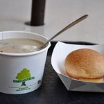 The Cafe - Mushroom Soup - Yum!