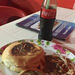 tacos, torta, and, of course, real Mexican Coca-Cola