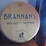 Brannan's Nameplate
