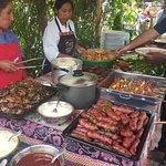 BBQ at La Capilla.