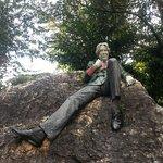 Oscar Wilde in nearby park