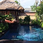 Private Pool and Cabana at Gardenia Villa